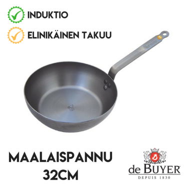 de Buyer maalaispannu 32cm