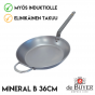 Hiiliteräspannu de Buyer Mineral B Element 36cm