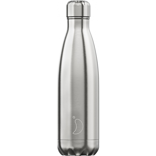 Juomapullo Chilly's Stainless Steel, 500ml