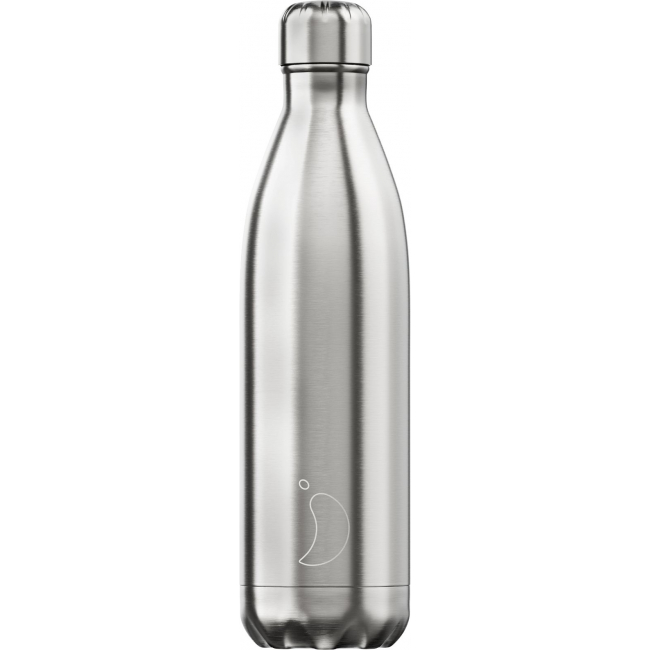 Juomapullo Chilly's Stainless Steel, 750ml