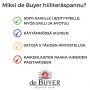 Hiiliteräspannu de BUYER MINERAL B ELEMENT, ∅ 32cm, apukahvalla